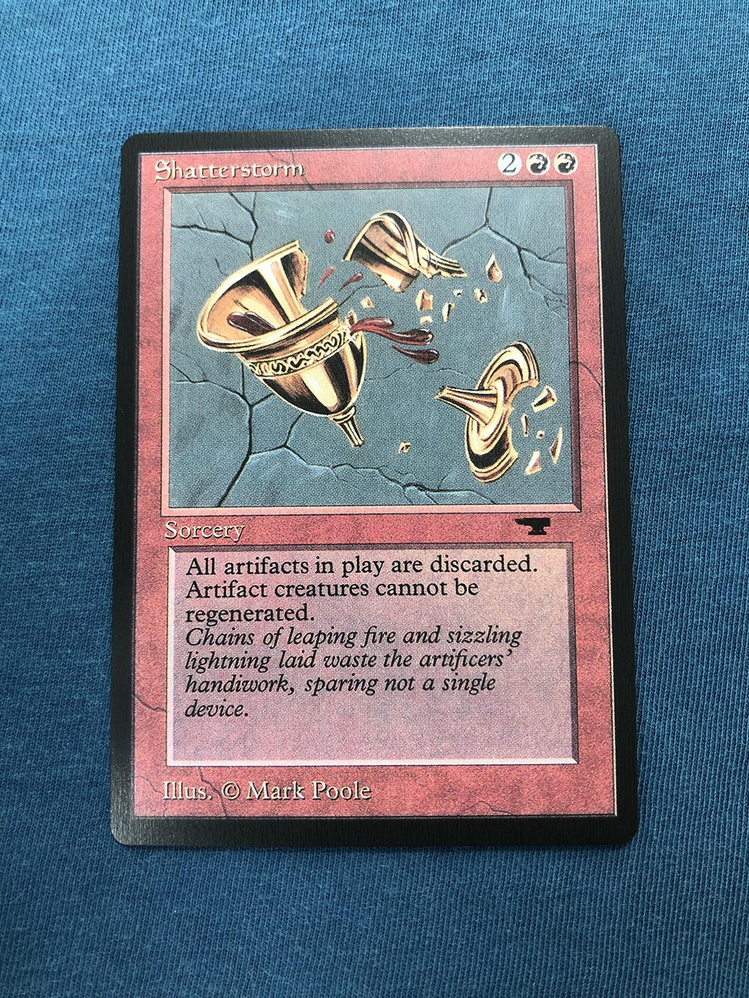 Shatterstorm Antiquities (ATQ) proxy mtg proxies proxy magic the gathering proxies cards FNM GP playable quality