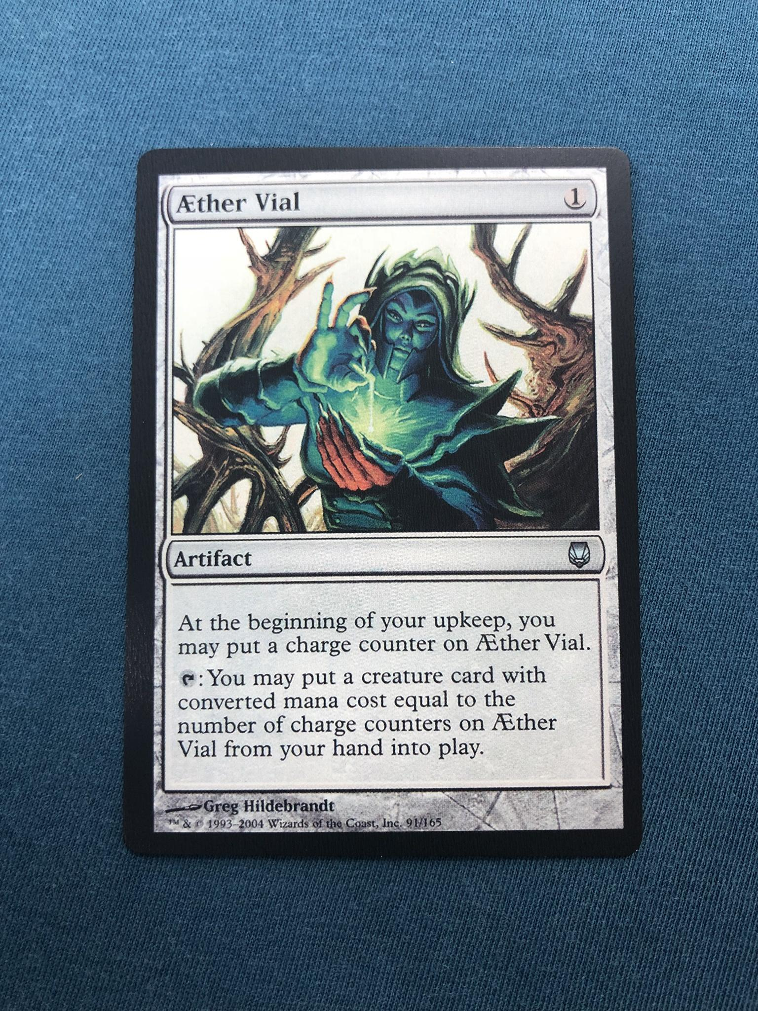 Aether vial Darksteel DST proxy mtg proxies proxy magic the gathering proxies cards FNM GP playable quality