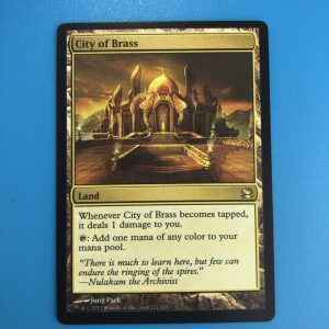 City of Brass Modern Masters MMA proxy mtg proxies proxy magic the gathering proxies cards FNM GP playable quality