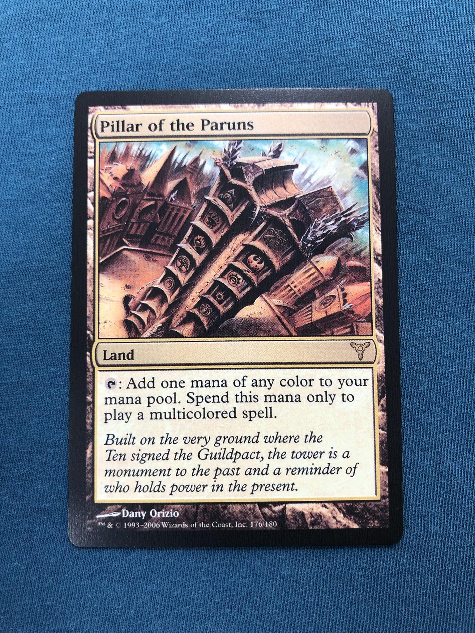 Pillar of the Paruns Dissension (DIS) proxy mtg proxies proxy magic the gathering proxies cards FNM GP playable quality