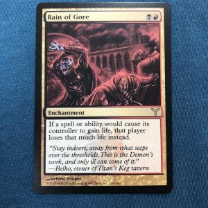 Rain of Gore Dissension (DIS) proxy mtg proxies proxy magic the gathering proxies cards FNM GP playable quality