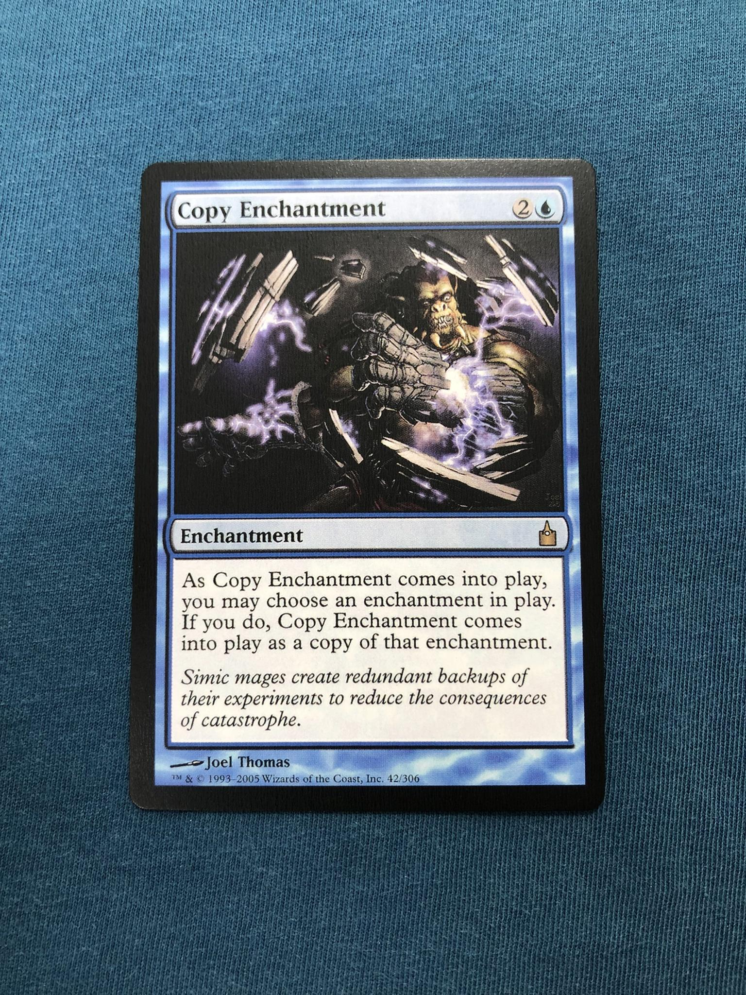 Copy Enchantment Ravnica: City of Guilds (RAV) proxy mtg proxies proxy magic the gathering proxies cards FNM GP playable quality